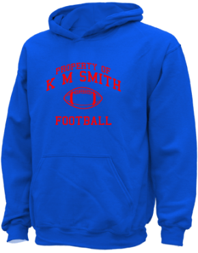 K M Smith Elementary School Kid Hooded Sweatshirts