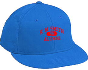 K M Smith Elementary School Flat Visor Caps