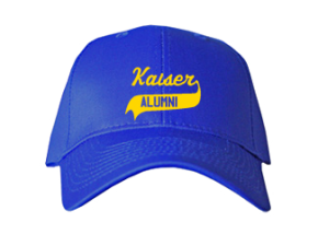 Kaiser Elementary School Embroidered Baseball Caps