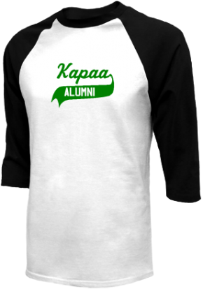 Kapaa Middle School Raglan Shirts