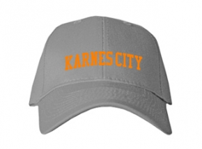 Karnes City High School Kid Embroidered Baseball Caps