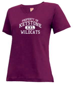 Keystone High School V-neck Shirts