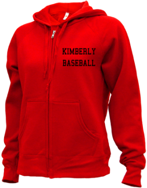 Kimberly High School Zip-up Hoodies