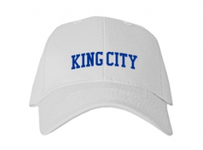 King City High School Kid Embroidered Baseball Caps
