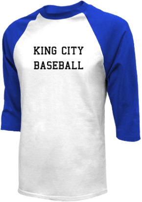 King City High School Raglan Shirts