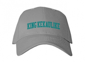 King Kekaulike High School Kid Embroidered Baseball Caps