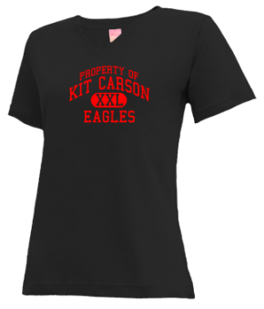 Kit Carson Elementary School V-neck Shirts