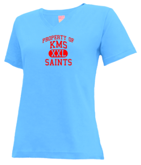 Kms Elementary School V-neck Shirts