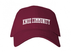 Knox Community High School Kid Embroidered Baseball Caps
