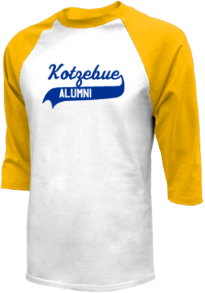 Kotzebue Middle School Raglan Shirts