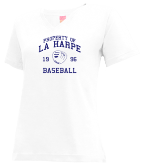 La Harpe High School V-neck Shirts