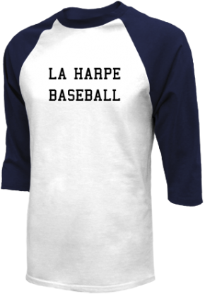 La Harpe High School Raglan Shirts