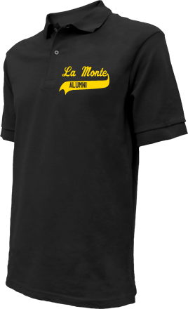 La Monte Elementary School Embroidered Polo Shirts