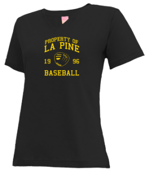 La Pine High School V-neck Shirts