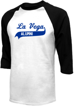 La Vega Junior High School Raglan Shirts