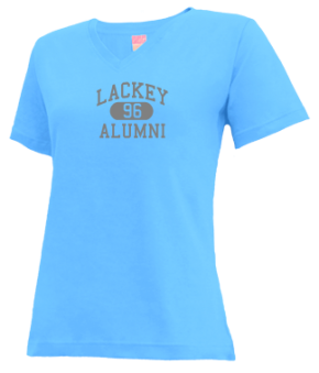 Lackey High School V-neck Shirts