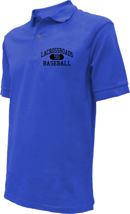 Lacrossroads High School Embroidered Polo Shirts