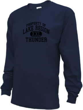 Lake Region High School Kid Long Sleeve Shirts