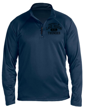 Lake Region High School Stretch Tech-Shell Compass Quarter Zip