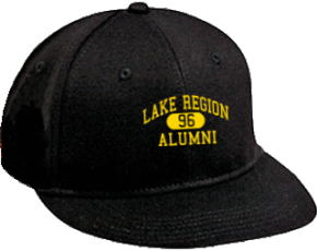Lake Region Middle School Flat Visor Caps