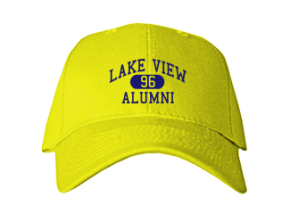 Lake View Elementary School Embroidered Baseball Caps