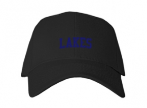 Lakes High School Kid Embroidered Baseball Caps