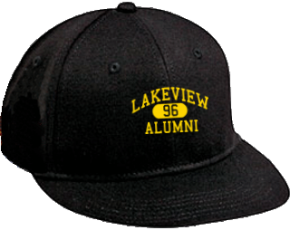 Lakeview Elementary School Flat Visor Caps