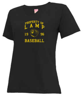 Lamp High School V-neck Shirts