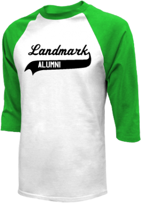 Landmark Middle School Raglan Shirts