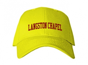 Langston Chapel Middle School Kid Embroidered Baseball Caps