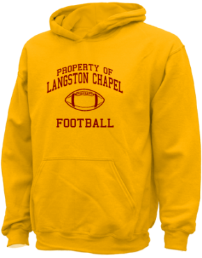 Langston Chapel Middle School Kid Hooded Sweatshirts