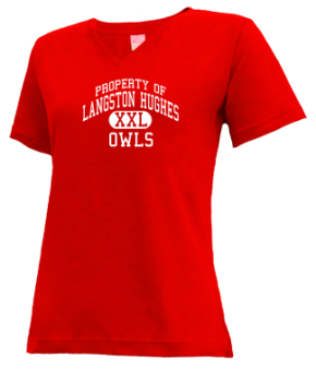 Langston Hughes Elementary School V-neck Shirts