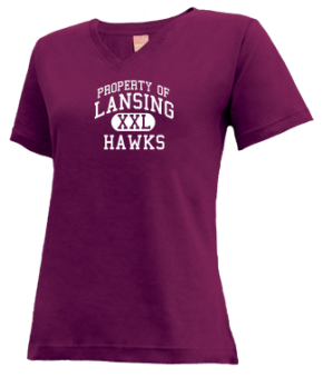 Lansing Middle School V-neck Shirts