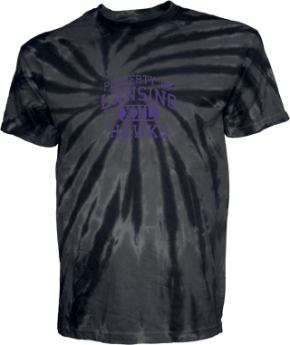Lansing Middle School Kid Tie-dye T-Shirts