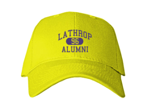 Lathrop High School Embroidered Baseball Caps