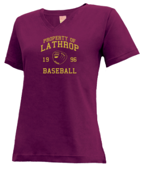 Lathrop High School V-neck Shirts