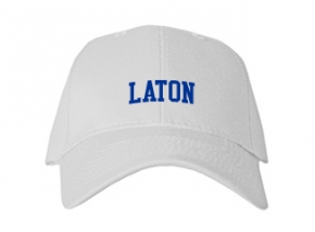 Laton High School Kid Embroidered Baseball Caps