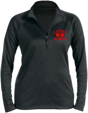 Laurel Middle School Stretch Tech-Shell Compass Quarter Zip