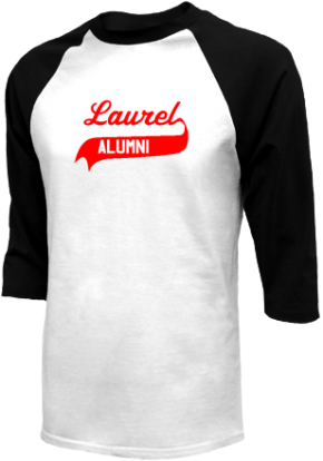 Laurel Middle School Raglan Shirts