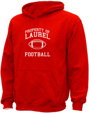 Laurel Middle School Kid Hooded Sweatshirts