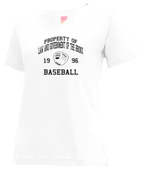 Law And Government Of The Bronx High School V-neck Shirts
