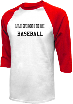 Law And Government Of The Bronx High School Raglan Shirts
