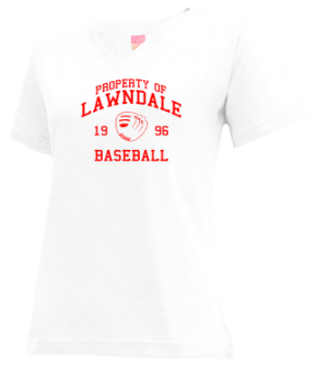 Lawndale High School V-neck Shirts