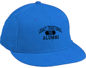 Legacy Traditional School Flat Visor Caps