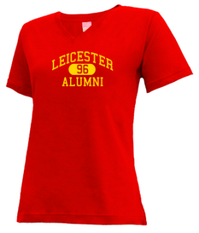Leicester High School V-neck Shirts