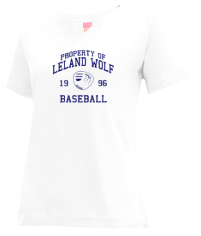Leland Wolf High School V-neck Shirts