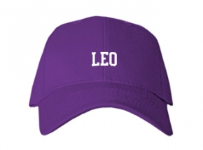 Leo High School Kid Embroidered Baseball Caps