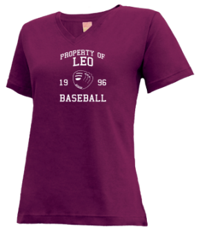 Leo High School V-neck Shirts
