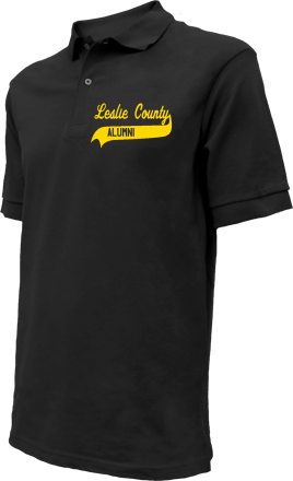 Leslie County Middle School Embroidered Polo Shirts