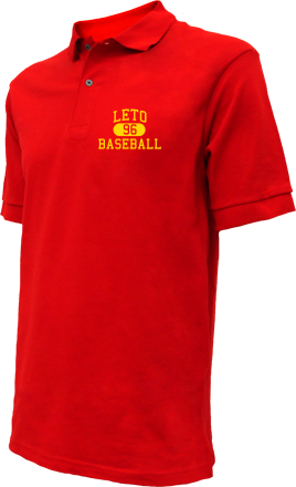 Leto High School Embroidered Polo Shirts